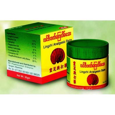 Balsam przeciwbólowy z ekstraktem z grzybów Lingzhi - 12 zł - Birma