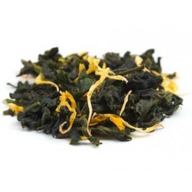 Herbata Oolong z płatkami jaśminu - zielona, organiczna - góry Tajlandii - 6 zł za 100 g