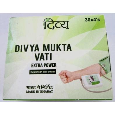 Divya Mukta Vati - wysokie ciśnienie krwi - Indie - 55 zł