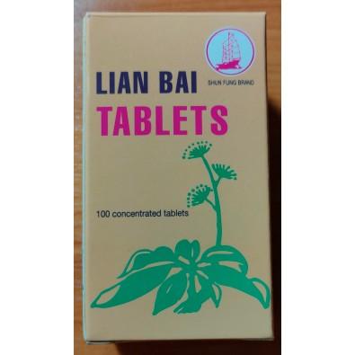 Lian Bai Tablets - detox wątroba , oczyszczanie krwi , guzy - 36 zł- Chiny