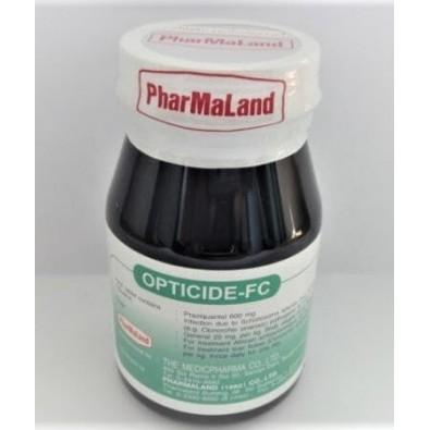 PRAZIQUANTEL - OPTICIDE - tasiemce , pasożyty , przywry - 180 zł - 100 tabl